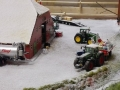 Farmworld Fehmarn Winter 2014 - Fliegl Fasswagen