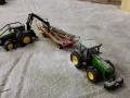 Farmworld Fehmarn Winter 2014 - John Deere Forsttraktor