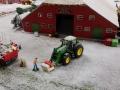 Farmworld Fehmarn Winter 2014 - John Deere mit Frontlader