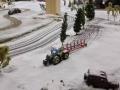 Farmworld Fehmarn Winter 2014 - MB Trac mit Pflug