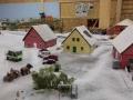 Farmworld Fehmarn Winter 2014 - Pferdekutsche in Dorf