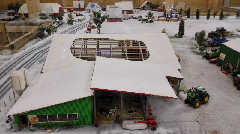 Farmworld Fehmarn Winter 2014 - Scheune oben