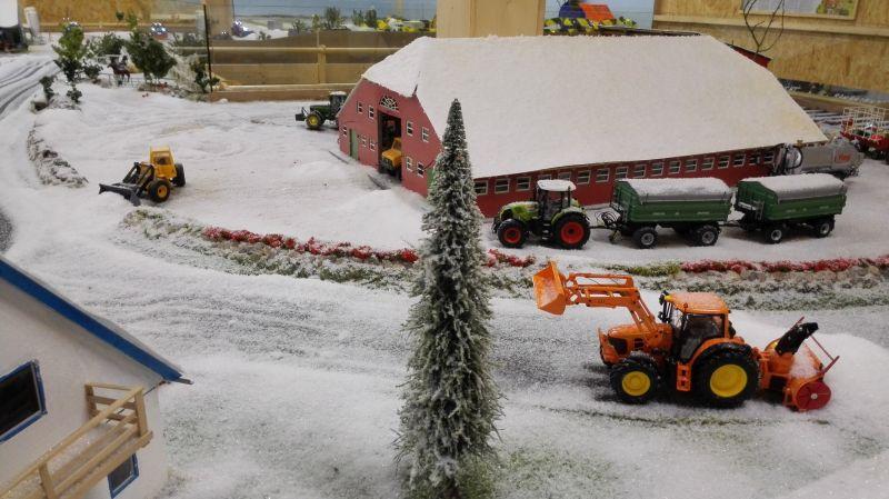 Farmworld Fehmarn Winter 2014 - Verschneite Scheune
