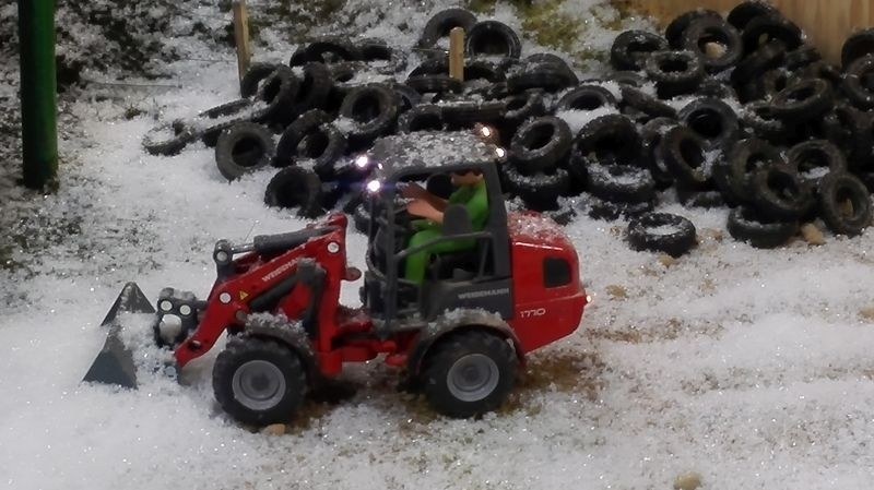 Farmworld Fehmarn Winter 2014 - Weidemann Hoftrac