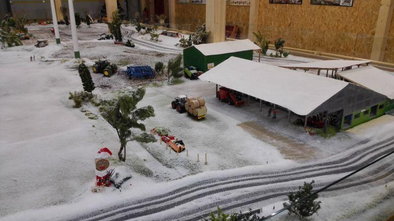 Farmworld Fehmarn Winter 2014 - Winterlandschaft