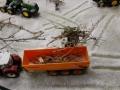 Farmworld Fehmarn Winter 2014 - Steyr und Joskin mit Holz