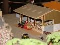Futterzeit im Kuhstall