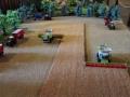 Field and fun - April 2015 - Getreideernte Claas Mähdrescher mit Raupenfahrwerk