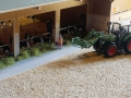 Field and fun - April 2015 - Kuhstall mit frischem Gras