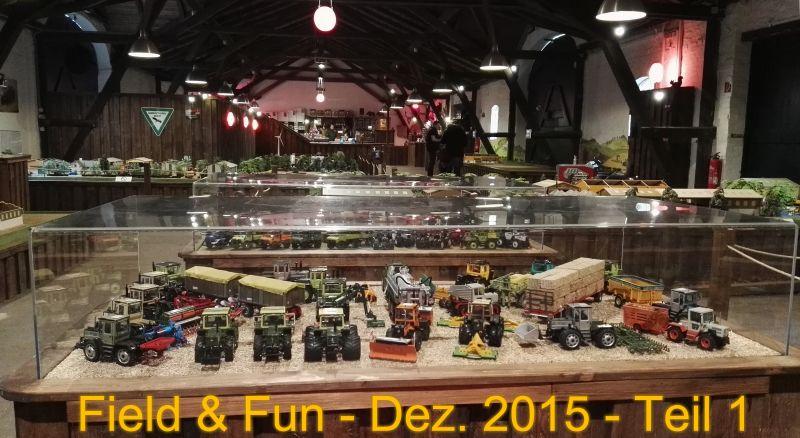 Field & Fun - Dezember 2015 - Teil 1