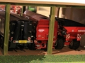 Field & Fun - Halle mit Krampe, Horsch und Fliegl Anhängern