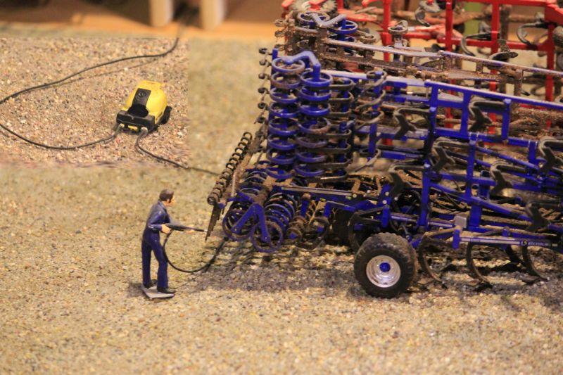 Field & Fun - Maschinen Reinigung