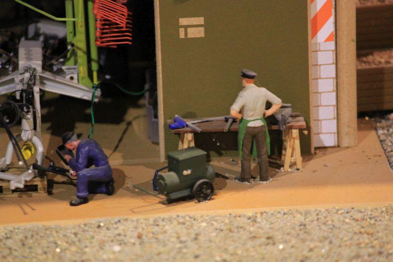 Field & Fun - Werkstatt Arbeiter