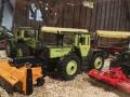 Field & Fun Sonderausstellung MB Trac   1800 mit Bemo Khrmaschine