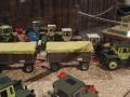 Field & Fun Sonderausstellung MB Trac mit zwei Anhängern