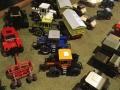 Field & Fun Sonderausstellung MB Trac und Unimog - Verschiedene Modelle