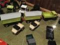 Field & Fun Sonderausstellung Unimog mit zwei Welger Anhängern