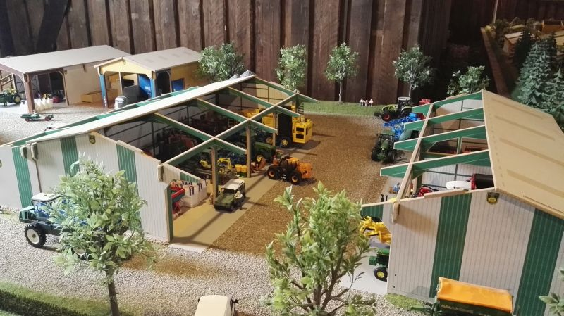 Field and Fun Ostern 2016 - Scheunen von oben
