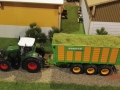 Field and Fun Ostern 2016 - Fendt Trecker mit Joskin Ladewagen