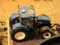 Field&Fun Sierhagen - New Holland Traktor von oben