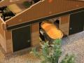Field&Fun Sierhagen - Maiswagen in Scheune
