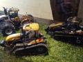 Sondermodell Siku John Deere Traktoren im Schlangen Design oben links