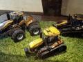Sondermodell Siku John Deere Traktoren im Schlangen Design oben
