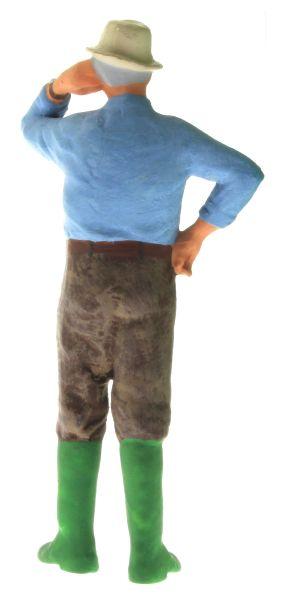 Figur 1:32 - Bauer mit dem Hemd aus der Hose hinten