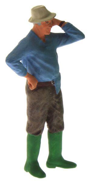 Figur 1:32 - Bauer mit dem Hemd aus der Hose oben rechts