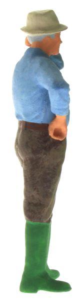 Figur 1:32 - Bauer mit dem Hemd aus der Hose rechts