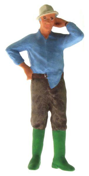 Figur 1:32 - Bauer mit dem Hemd aus der Hose vorne