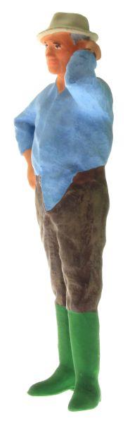 Figur 1:32 - Bauer mit dem Hemd aus der Hose vorne links