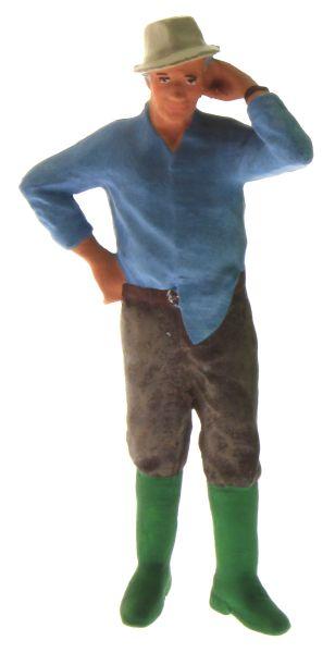 Figur 1:32 - Bauer mit dem Hemd aus der Hose