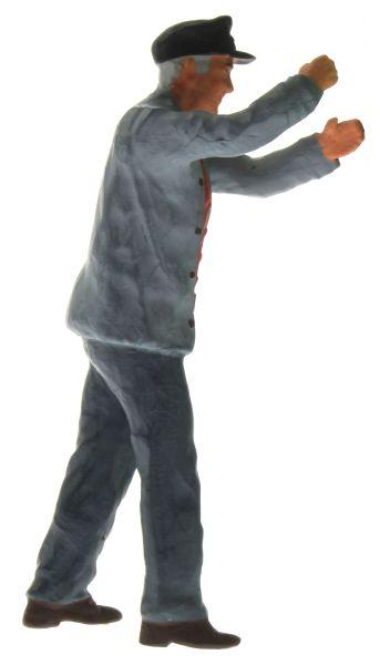 Figur 1:32 . Bauer hält Gegenstand rechts