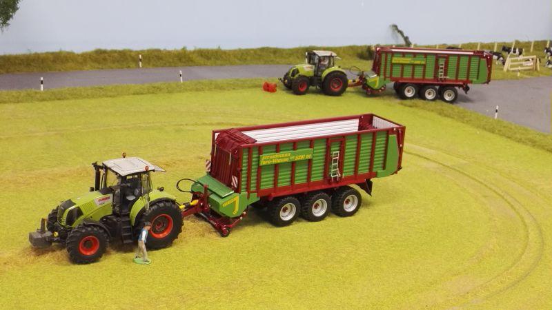 Farmworld Fehmarn Juni 2016 - Strautmann Vitesse Ladewagen