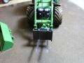 John Deere 7R mit Frontgabel Siku Control 32 mit Gabel
