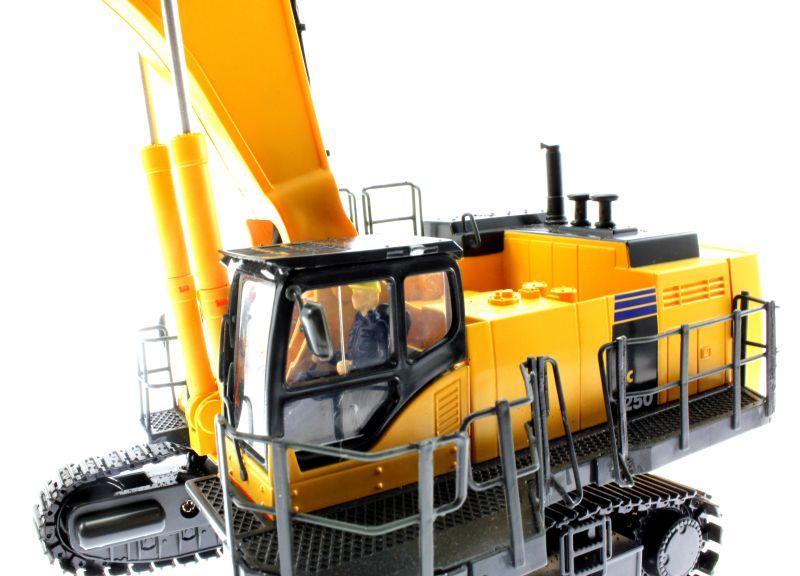 Komatsu PC 1250 Schaufel-Bagger - RC Ferngesteuert Kabine