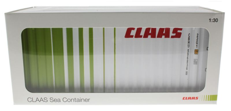 MarGe Models 1511 - Claas Sea Container 1:30 Karton vorne