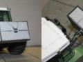 Miniaturbeton - Fendt Traktor mit Beton-Heckgewicht
