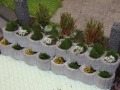 Miniaturbeton - Pflanzkübel