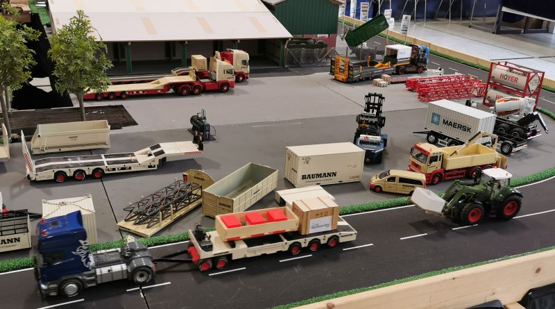Modellbahn Ausstellung Bad Oldesloe Siku Control Windkraftanlage 2019 046