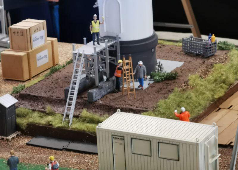 Modellbahn Ausstellung Bad Oldesloe Siku Control Windkraftanlage 2019 076