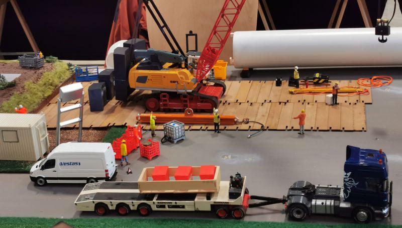 Modellbahn Ausstellung Bad Oldesloe Siku Control Windkraftanlage 2019 078