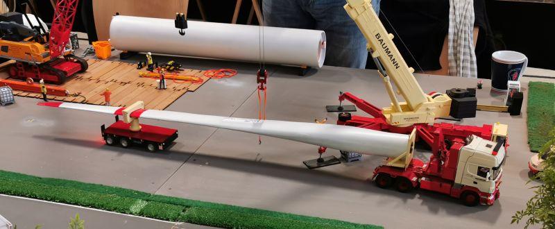 Modellbahn Ausstellung Bad Oldesloe Siku Control Windkraftanlage 2019 093