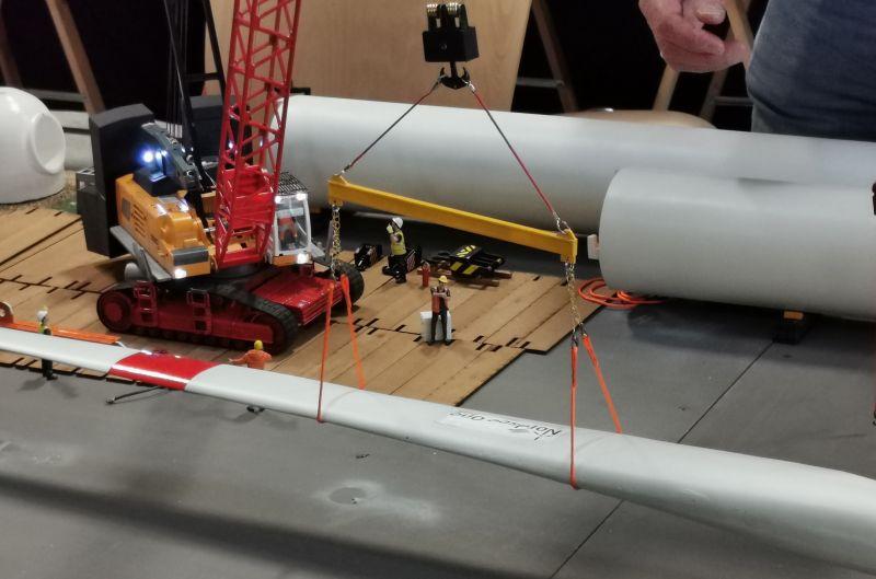Modellbahn Ausstellung Bad Oldesloe Siku Control Windkraftanlage 2019 097