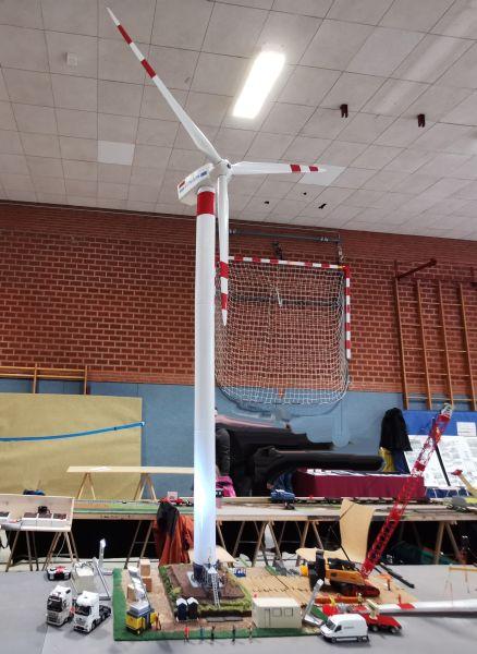 Modellbahn Ausstellung Bad Oldesloe Siku Control Windkraftanlage 2019 112