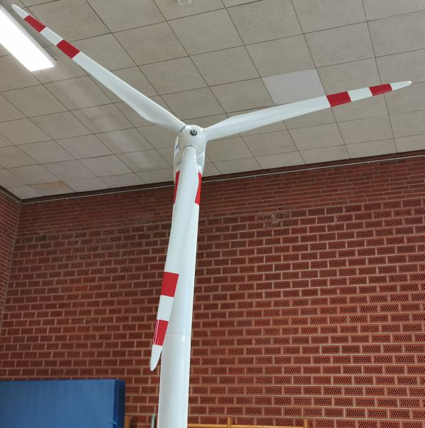 Modellbahn Ausstellung Bad Oldesloe Siku Control Windkraftanlage 2019 114