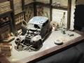 Modellbau SWH in Neumünster 2017 - Diorama Auto in Werkstatt
