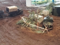 Modellbau SWH in Neumünster 2017 - Militär Jeep getarnt
