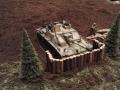 Modellbau SWH in Neumünster 2017 - Militär Tiger in Gefechtsstellung